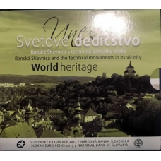 SLOVAKIA 2013 - EURO COIN SET - UNESCO  WORLD HERITAGE