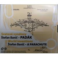 SLOVAKIA 2018 - STEFAN BANICH  - MILITARY PARACHUTE - EURO COIN SET BU