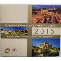 SLOVAKIA 2015 - EURO COIN SET - Slovak Euro Coins