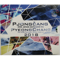 SLOVAKIA 2018 - EURO COIN SET - XXIII Olympic Winter Games in Pyeongchang