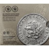 SLOVAKIA 2021 - EURO COIN SET BU