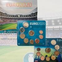 SLOVAKIA 2021 - EURO COIN SET - UEFA European Championship - Euro 2020