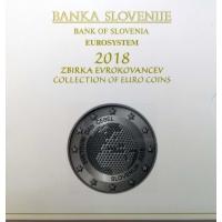 SLOVENIA 2018 - EURO COIN SET(BU)