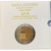 SLOVENIA 2019 - EURO COIN SET(BU)
