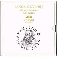 SLOVENIA  2008 - EURO SET(BU)