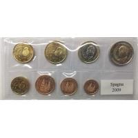 SPAIN 2009 - EURO SET UNC