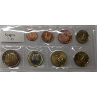 SPAIN 2015 - EURO SET UNC