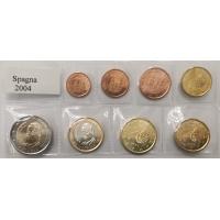 SPAIN 2004 - EURO SET UNC