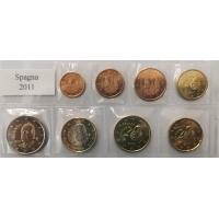 SPAIN 2011 - EURO SET UNC