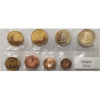 SPAIN 2014 - EURO SET UNC