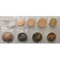 SPAIN 2017 - EURO SET UNC