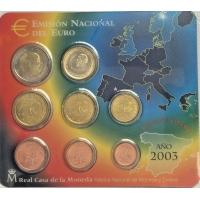 SPAIN 2003 - EURO COIN SET