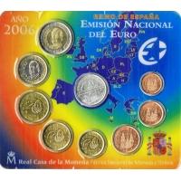 SPAIN 2006 - EURO COIN SET - BU