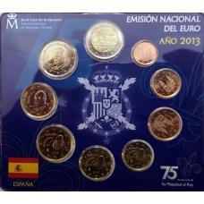 SPAIN 2013 - EURO COIN SET