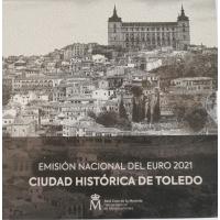 SPAIN 2021 - EURO COIN SET - Historic City of Toledo