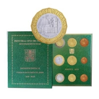 VATICAN 2018 - EURO COIN SET +5€-600th anniversary of the dome of Santa Maria del Fiore