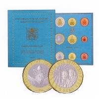 VATICAN 2019 - EURO COIN SET +5€