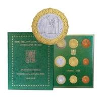 VATICAN 2018 - EURO COIN SET +5€-600th anniversary of the dome of Santa Maria del Fiore