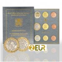 VATICAN 2020 - EURO COIN SET + 5 EURO