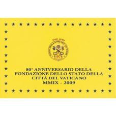 VATICAN 2009 - EURO COINS SET - PROOF