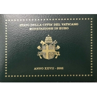 VATICAN 2005 - EURO COIN SET