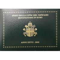 VATICAN 2005 - EURO COIN SET