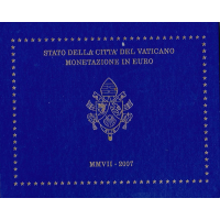 VATICAN 2007 - EURO COIN SET