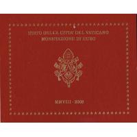 VATICAN 2008 - EURO COIN SET