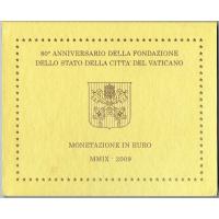 VATICAN 2009 - EURO COIN SET