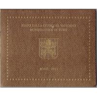 VATICAN 2011 - EURO COIN SET