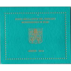 VATICAN 2013 - EURO COIN SET