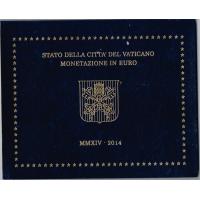 VATICAN 2014 - EURO COIN SET