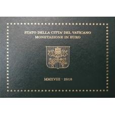 VATICAN 2018 - EURO COIN SET