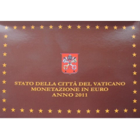 VATICAN 2011 - EURO COINS SET - PROOF