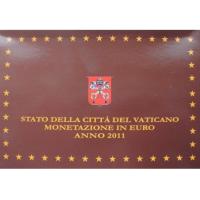 VATICAN 2011 - EURO COINS SET - PROOF