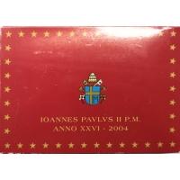 VATICAN 2004 - EURO COINS SET - PROOF