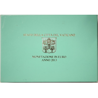 VATICAN 2013 - EURO COINS SET - PROOF