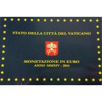VATICAN 2014 - EURO COINS SET - PROOF