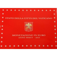 VATICAN 2015 - EURO COINS SET - PROOF
