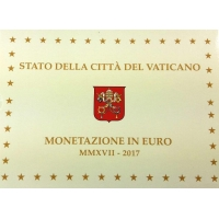 VATICAN 2017 - EURO COIN SET - PROOF