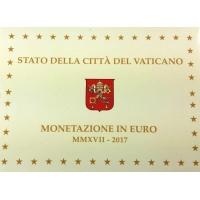 VATICAN 2017 - EURO COIN SET - PROOF