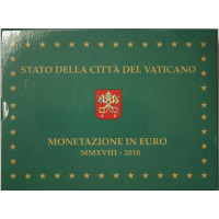 VATICAN 2018 - EURO COINS SET - PROOF