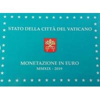 VATICAN 2019 - EURO COINS SET - PROOF