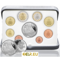 VATICAN 2020 - EURO COINS SET - PROOF