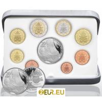 VATICAN 2020 - EURO COINS SET - PROOF