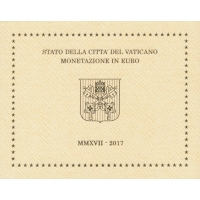 VATICAN 2017 - EURO COIN SET