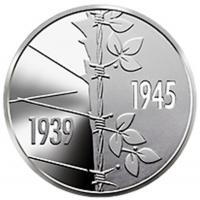 UKRAINA 5 HRYVNI 2021 - 75 years of victory over Nazism in World War II 1939-1945