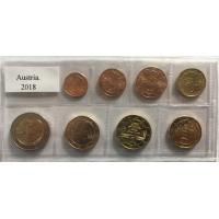 AUSTRIA 2018 - EURO COIN SET