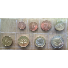 LATVIA 2014 - EURO SET