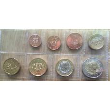 LATVIA 2014 - EURO SET